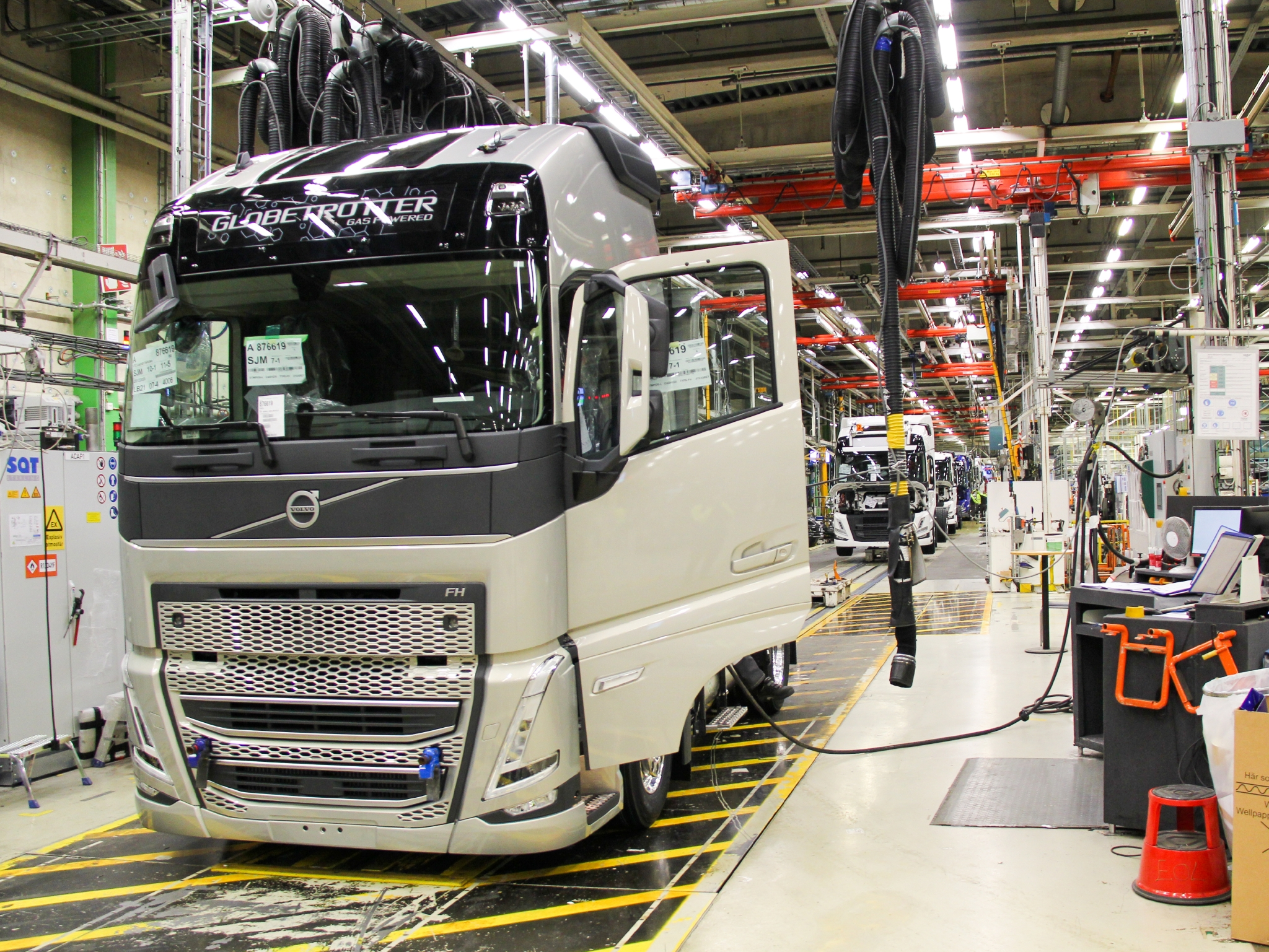 Volvo Trucks new generation of heavy-duty truck models have entered serial production at the CO2 neutral Tuve plant in Gothenburg, Sweden.
