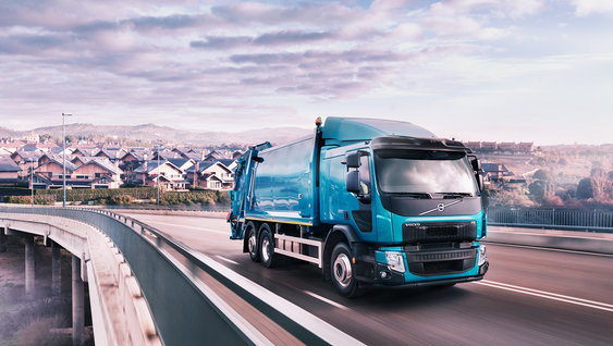 Volvo FE's innovative safety feature