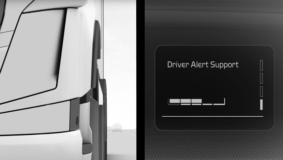 Video explaining the benefits of Driver Alert Support