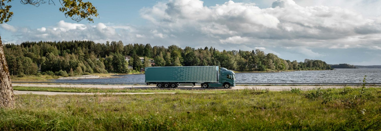 A Volvo FM with a 20% smaller footprint.
