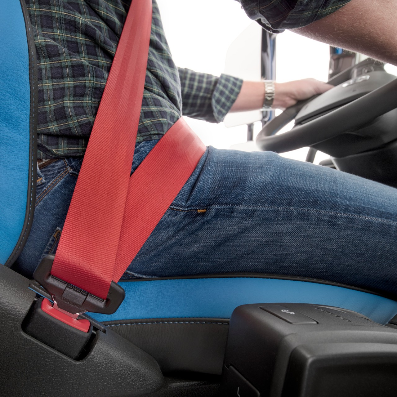 Volvo Trucks three-point seatbelt