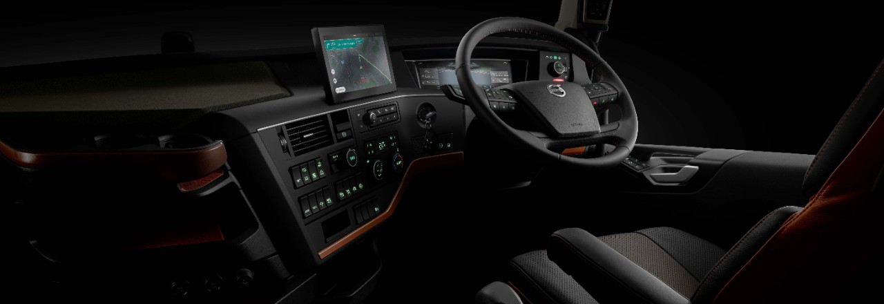 Behind the wheel of the Volvo FH16, there's more control than ever.