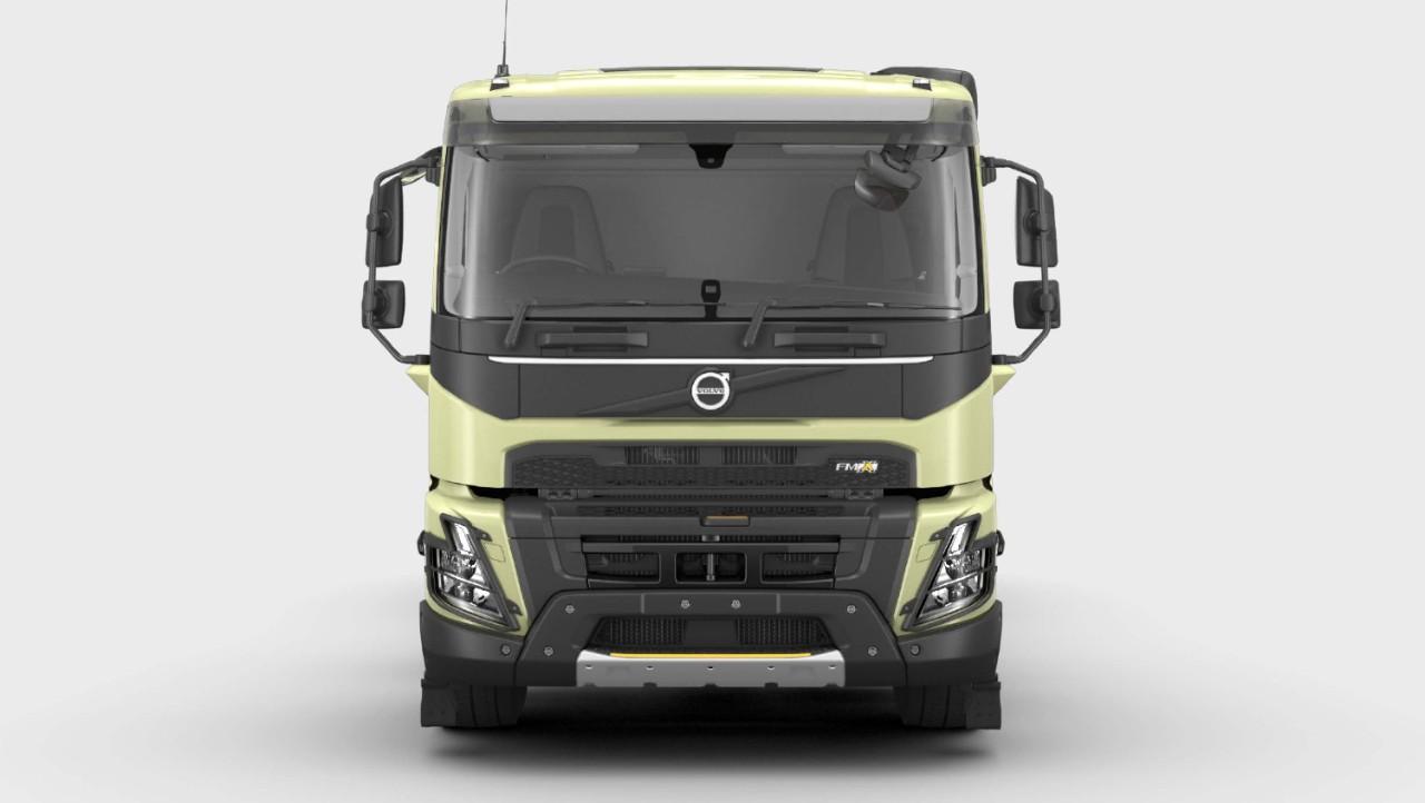 Explore the Volvo FMX exterior in the Volvo Truck Builder.